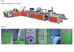 Machine fabrication sachet plastique prix