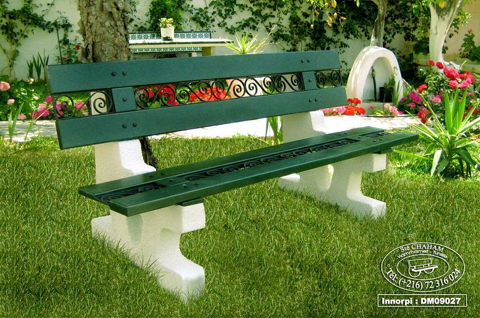 Mobilier urbain algerie for Espace vert urbain
