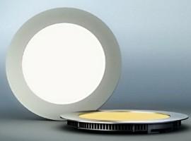 Spot led ultra mince rond 18w algrie - Spot led encastrable exterieur plafond ...