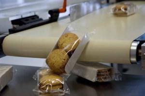 Machine flowpack pour biscuits