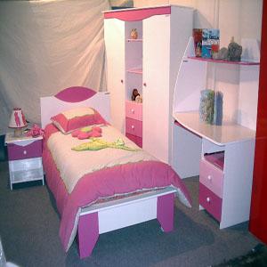 Vente moblier pour enfants algerie - Chambre grise et rose poudre ...