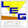 EURL LABORATOIRE DES ETUDES GEOTECHNIQUES
