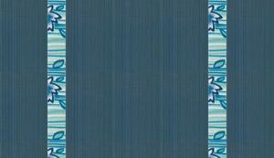 Faïence :Elegance Bleu