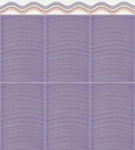 faence dune violet - Faience Algerie
