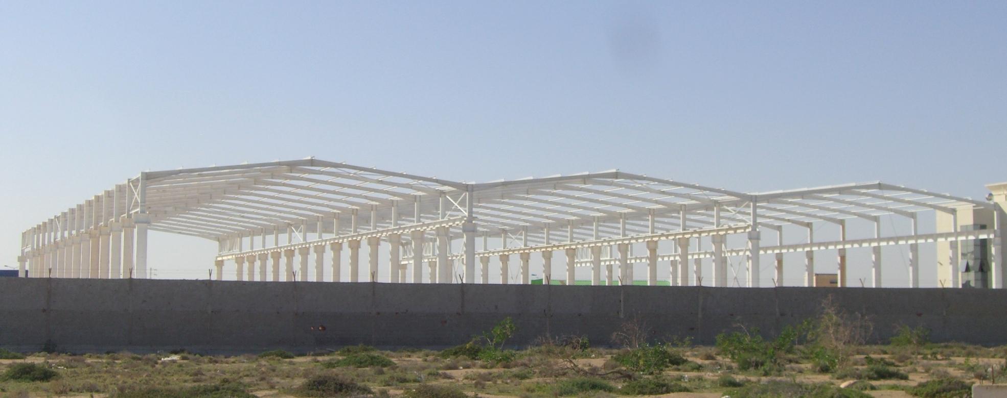 Construction m tallique tunisie for Structure metallique architecture