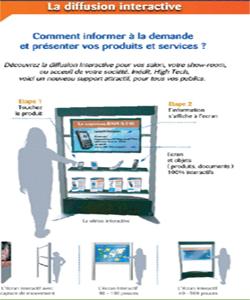 Logiciels de télécommunication et de diffusion interactive