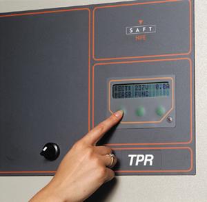 Commande du chargeurs de Batteries industriels