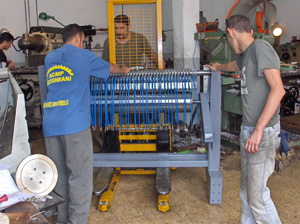 Construction d'une partie d'une machine mécanique