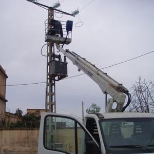 Installation cable électrique