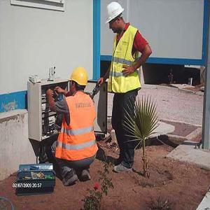 Travaux d'électricité et de maintenance