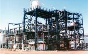 Montage de structure industrielle
