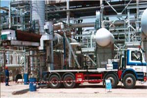 Réalisations d'installations industrielles