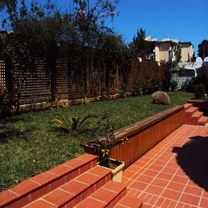 Étanchéité terrasse jardin