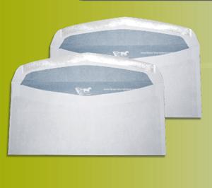 Enveloppe mécanisable à fermeture gommée