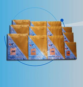 Enveloppe et pochette conditionnement en paquet sous Cellophane