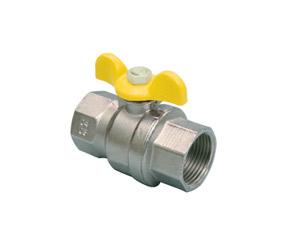 Vanne gaz à boisseau sphérique