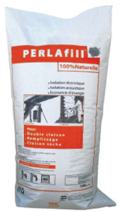 Isolants en perlite: PERLAfill plus