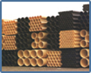 Tube PVC assainissement