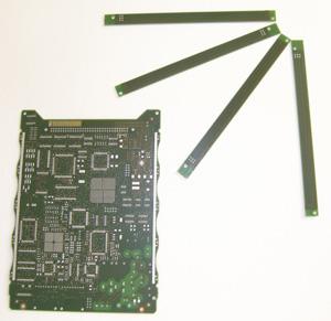 Circuit imprimé double face