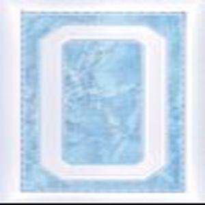Biseauté bleu foncé