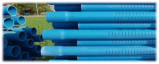 Revêtements de forage d'eau : Tube crépine