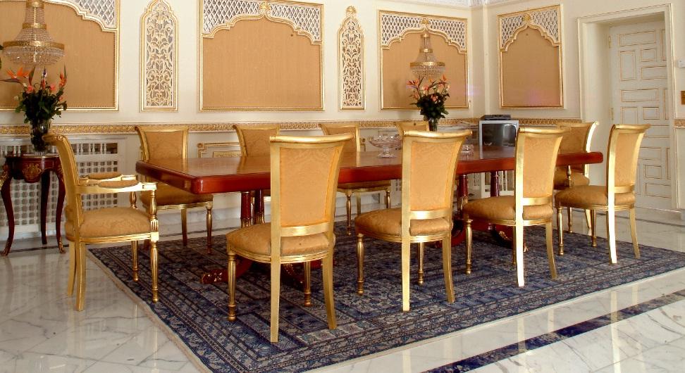 Salle à manger de palais