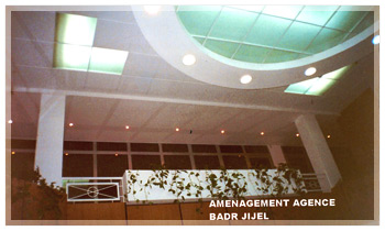 Aménagement : agence BADR JIJEL
