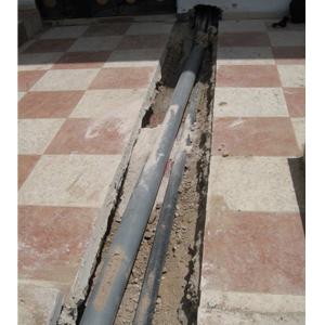 Tirage du câble souterrain