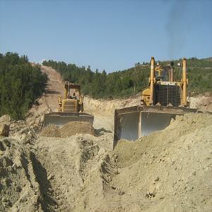 Transfert du Barrage de hammam Boughrara vers la ville de MAGHNIA W.TLEMCEN : Ligne en fonte ductile L= 12 650 ml Ø 28