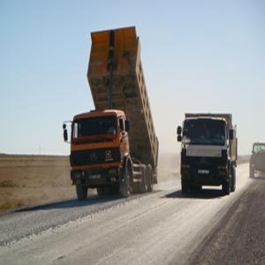 Travaux routiers sur la wilaya de Tebessa