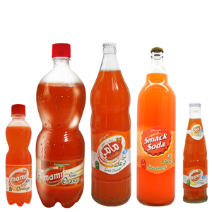 Boisson gazeuse Orange