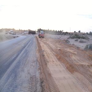 Travaux de ponts sur la wilaya de Biska