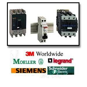 Equipements basse-tension  et matériel de contrôle industriel