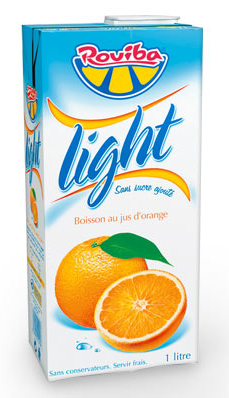 Jus de fruit Light