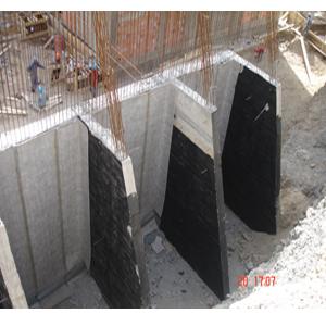 Drainage vertical des murs de souténement