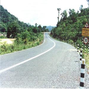 Autoroute N°13, au Laos