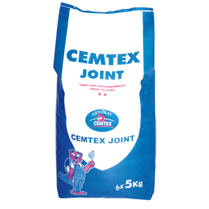 Mortier joint (cemtex joint)