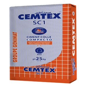 Mortier colle compacto CEMTEX