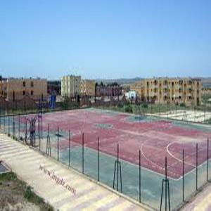 Réalisation d'un terrain de sport a Tizi-Ouzou