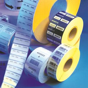 Étiquette thermique vierge et imprimée