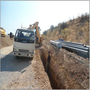 Drainage autoroute Blida