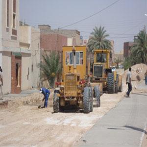 Voirie centre ville d'Adrar