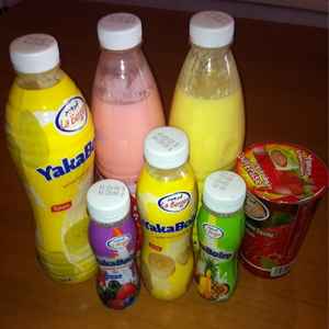 Spécialité laitière sucrée aromatisée