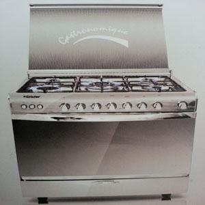 Cuisinière à cinq feux