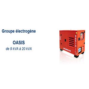 Groupe électrogene sur skid, capoté à démarrage automatique (ATS)