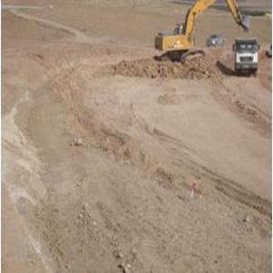 Travaux de terrassements dépôt de carburant S.B.A