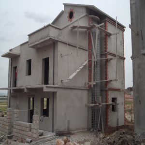Construction villas