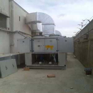 Projet climatisation industrielle