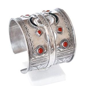 Bracelet en Argent et corail