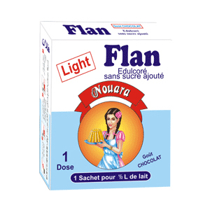 Flan light vanillé